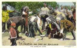 THE GAMBLING GAME - Indiens De L'Amerique Du Nord