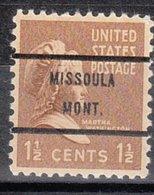 USA Precancel Vorausentwertung Preo, Bureau Montana, Missioula 805-71 - Vereinigte Staaten