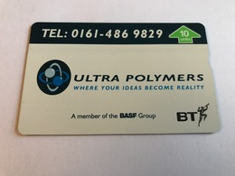 England - Ultra Polymers - BT Privé-uitgaven