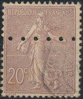 FRANCE - 1903, Mi 109, Perforé - Frankreich