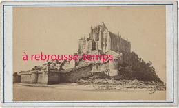 CDV En 1873 Le Mont Saint Michel - Lieux