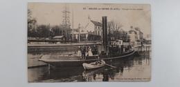 Ablon Sur Seine   (peniche Arken Binnenvaart) - Chiatte, Barconi