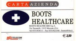 *CARTA ALBERGHI 1° Tipo: BOOTS HEALTHCARE - Cod. 1146* - Usata - Italia