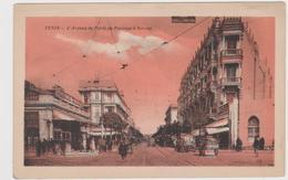 Tunis  L'avenue De Paris Au Passage à Niveau - Tunisie