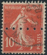 FRANCE - 1906, Mi 112, Perfore - Frankreich
