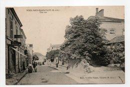 - CPA NUEIL-SOUS-PASSAVANT (49) - Une Rue 1918 (CYCLES JOUSSELIN) - Edition Goubin-Faure - - Andere Gemeenten