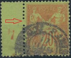 FRANCE - 1877/1900, Mi 78, Sage - 1876-1898 Sage (Type II)