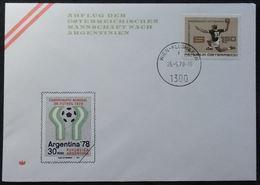 Football Argentine 1978 (Abflug Der Osterreichischen Mannschaft Nach Argentinien - Handball) - 1945-.... 2ème République