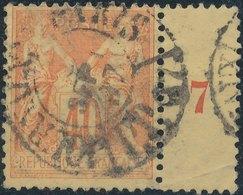 FRANCE - 1876/48, Mi 66II - 1876-1898 Sage (Type II)