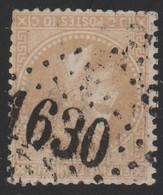 GC  1630   GAVRAY   ( 48  MANCHE )  SUR 36 - Marcophilie (Timbres Détachés)