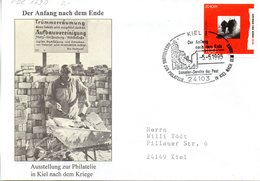 """BRD Sonder-FDC """"Europa: Frieden Und Freiheit"""" Mi.1790 ESSt 5.5.1995 KIEL 1 """"Der Anfang Nach Dem Ende"""" - [7] Federal Republic"""