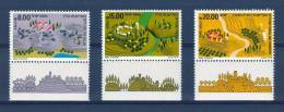 Israel - 1983, Michel/Philex No. : 922/923/924,   - MNH - *** - Full Tab - Israel