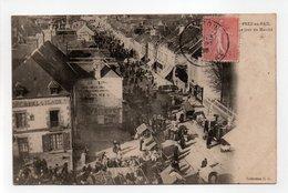 - CPA PRÉ-EN-PAIL (53) - Le Jour Du Marché 1905 (belle Animation) - Collection G. G. - - Pre En Pail