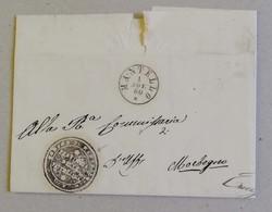 Prefilatelica Da Mantello Per Morbegno - 01/11/1860 Con Testo - Italia