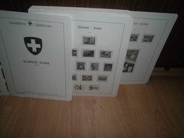 Leuchtturm SF Schweiz 1990-2011 Wie NEU Vordruckblätter (727) - Album & Raccoglitori