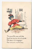 ILL011 Peu Commun Grand écart N°18 Ta Jeune Fille Sera Artiste Cercles Piste Engagée Concerts Numerotés Llustrateur 191 - Illustratori & Fotografie
