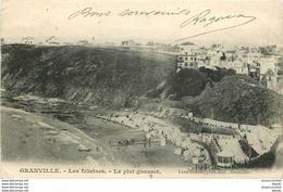 50 GRANVILLE. Les Falaise Et Le Plat Gousset 1904 - Granville