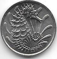 *singapore 10 Cents 1981 Km 3  Unc/ms63 - Singapour