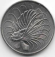 *singapore 50 Cents 1981 Km 5 Bu/ms65 - Singapour