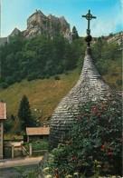 25 - La Cluse Et Mijoux - Le Château De Joux - Flamme Postale De Les Hopitaux Neufs - Voir Scans Recto-Verso - France