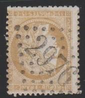 GC  2976   PONTORSON  ( 48  MANCHE ) SUR  55 - Marcophilie (Timbres Détachés)