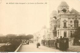 17 ROYAN. Le Casino De Foncillon Train Tramway à Vapeur - Royan