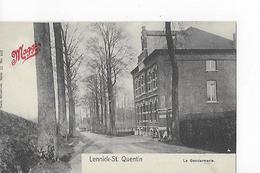 1 Cpa Lennick-St.Quentin : La Gendarmerie. Publicité Maggi - Lennik