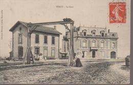 VERZY - LA GARE - Verzy