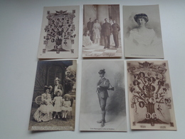 Beau Lot De 60 Cartes Postales De Famille Royale Belge       Mooi Lot Van 60 Postkaarten Koninklijke Familie  Dynasty - Cartes Postales