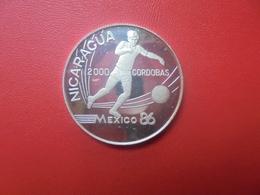 NICARAGUA 2000 CORDOBAS 1988 ARGENT (V) - Nicaragua