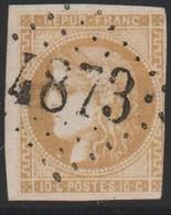 GC  4873   SOTTEVAST  ( 48  MANCHE )  SIGNE  SUR 43 - Marcophilie (Timbres Détachés)