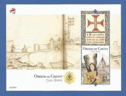Portugal  2019 , Ordem De Cristo 700 Anos - Sheet - Postfrisch / MNH / (**) - 1910-... Republic