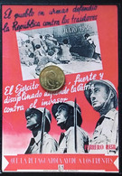 Cartel Guerra Civil Española Reproduccion - Patrióticos