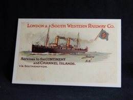 Services To The Continent Channel Islands__(U-1724) - Bateaux