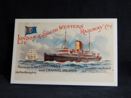 Services To The Continent Channel Islands__(U-1726) - Bateaux