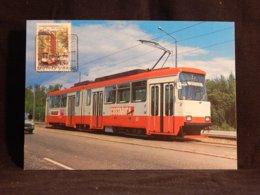 Finland 1982 Tram Maxicard__(U-2823) - Finlandia