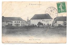 88 - ST LÉONARD (Vosges) - Hôtel Du Lion D'Or - 1908 - Très Mauvais état - Autres Communes