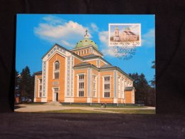 Finland 1988 Kerimäki Church Maxicard__(U-2293) - Finland