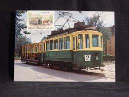 Finland 1988 Tram Maxicard__(U-2868) - Finlandia