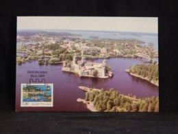 Finland 1989 Savonlinna Castle Maxicard__(U-2632) - Finland