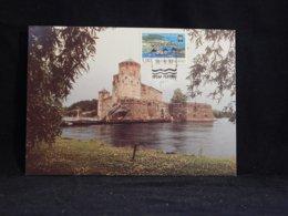 Finland 1990 Savonlinna Castle Maxicard__(U-2633) - Finland
