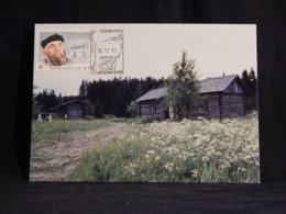 Finland 1991 F.E. Sillanpää Maxicard__(U-2875) - Finland