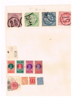 Nouvelle Galles Du Sud. Timbres Fiscaux à Identifier. Ancienne Collection. Old Collection. - Stamps