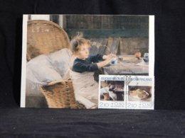 Finland 1991 Helene Schjerfbeck Maxicard__(U-2700) - Finland