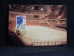 Finland 1991 Ice Hockey Maxicard__(U-2237) - Maximumkarten (MC)