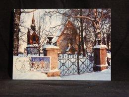 Finland 1992 Vantaa Church Maxicard__(U-2296) - Finland