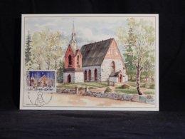 Finland 1992 Vantaa Church Maxicard__(U-2299) - Finland