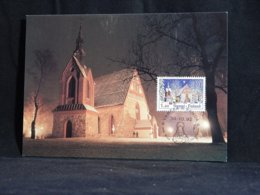 Finland 1992 Vantaa Church Maxicard__(U-2319) - Finland