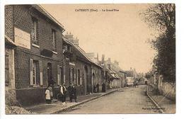 Catenoy -1915- (prox Sacy Le Grand - Labruyère- Avrigny- Epineuse- Maimbeville- Saint Aubin Sous Erquery) - Altri Comuni