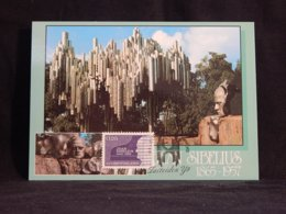Finland 1993 Sibelius Maxicard__(U-2761) - Finland
